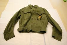 A Green civil defence corp jacket